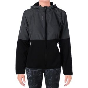 Womens Nitro Heathered Hooded Athletic Jacket • M